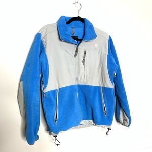 The North Face Denali Blue zip up fleece jacket M